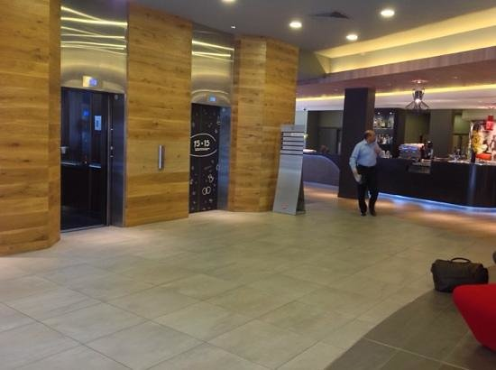 Ibis London Euston St Pancras: lobby