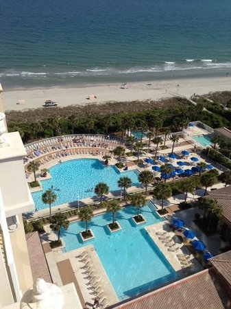 Myrtle Beach Marriott Resort & Spa at Grande Dunes: what a view!