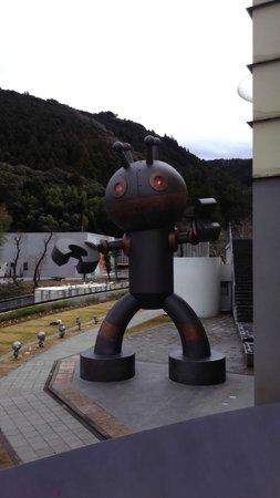 Takashi Yanase Kinenkan Anpanman Museum : 博物館前