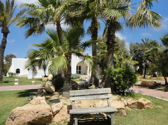 Winzrik Resort & Thalasso Djerba: JARDIN