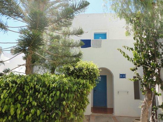 Winzrik Resort & Thalasso Djerba: VUE D UNE ENTREE POUR CHAMBRE