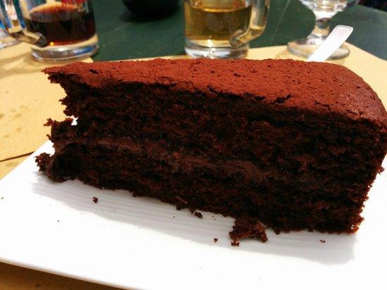 Il Bandierino: Torta al cioccolato e nutella