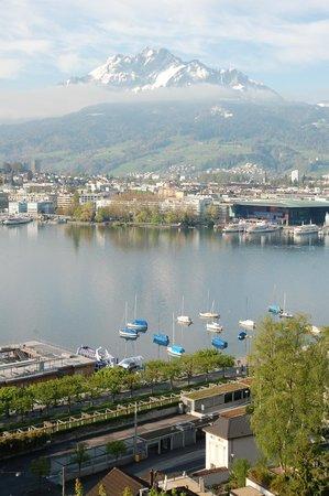 Art Deco Hotel Montana Luzern: View