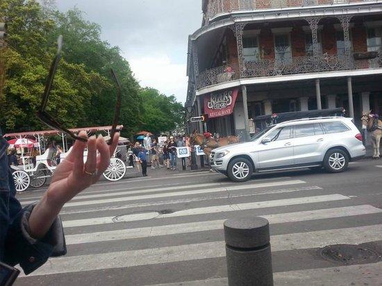 Vieux carré français de La Nouvelle-Orléans : GREAT people watching