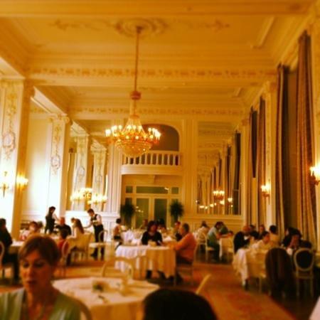 Kempinski Palace Portoroz: la sala colazione