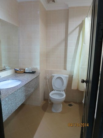 Salita Hotel: Superior Double Bathroom