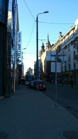 Tallink Hotel Riga: красивое месторасположение