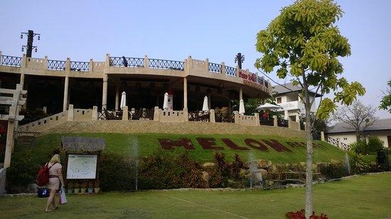 Melon Resort Mui Ne: Vooraanzicht van het hotel