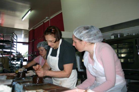 Sissy Chocolate Making Blackburn
