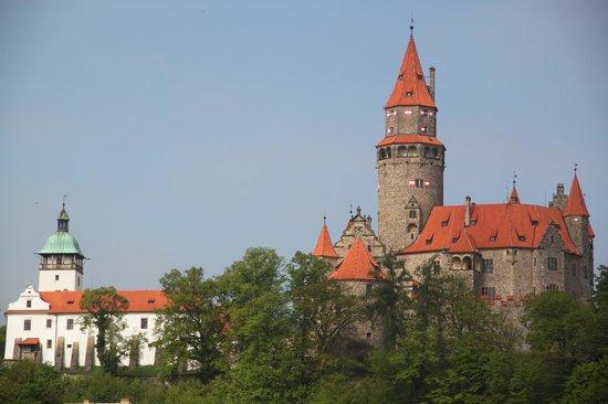 Bouzov Castle: На подъезде к замку