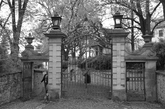 Bouzov Castle: ворота в парк