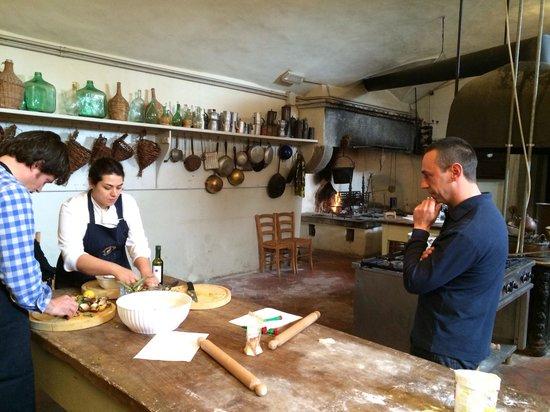 Villa le Corti - Principe Corsini: Cooking class