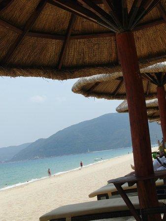 Hilton Sanya Yalong Bay Resort & Spa : プライベートビーチ