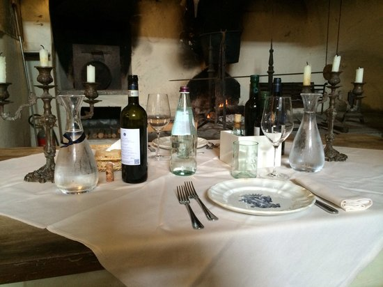 Principe Corsini - Villa le Corti: Romantic table, cooking class