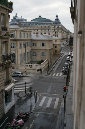 Hôtel d'Orsay : View from my room that shows the Museum d'Orsay
