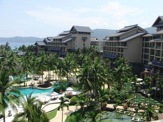 Hilton Sanya Yalong Bay Resort & Spa : 素晴らしい眺望