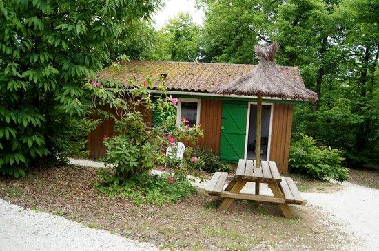 Village du Paillé : Un des chalets du village