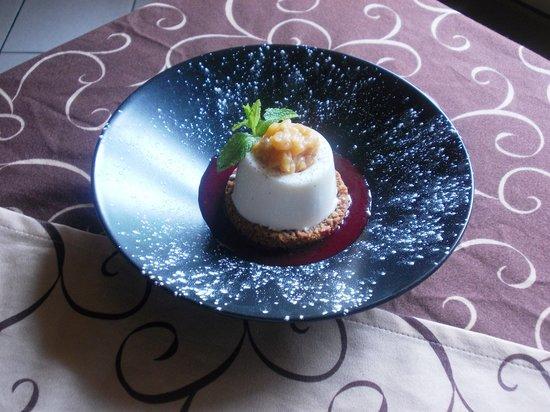 Art des Choix: panna cotta a la vanille