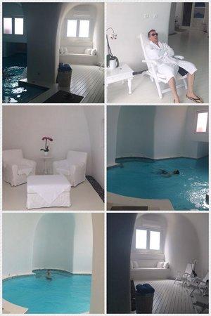 Anastasis Apartments: Indoor pool and spa