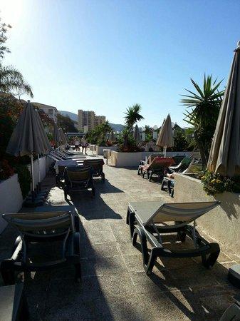Aparthotel Parque de la Paz : Were we sunbathed