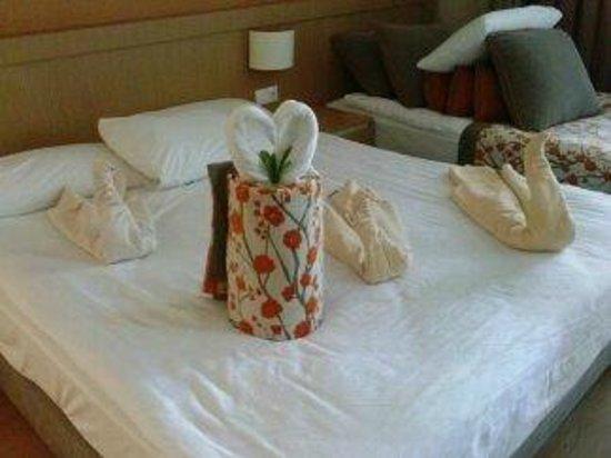 Limak Limra Hotel : Het perfect opgemaakte bed