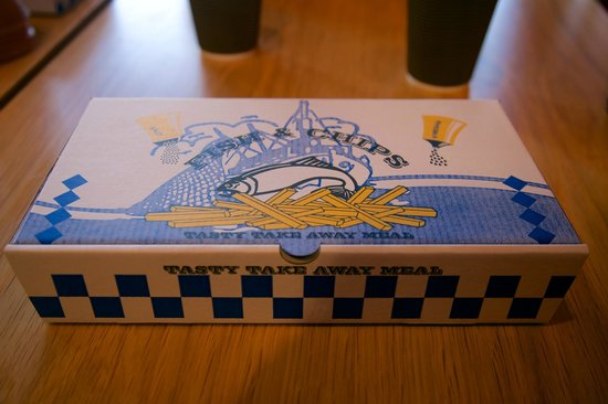 Docklands Fish and Chips: Your meal