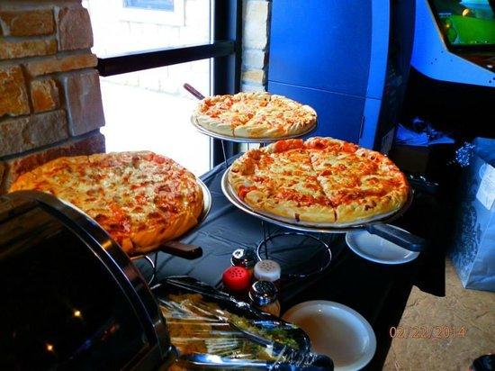 anastasias restaurant double decker pizza it was incredible best bridal shower ever