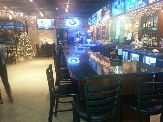 Anastasia's Restaurant: The Beer Garden at Christmas