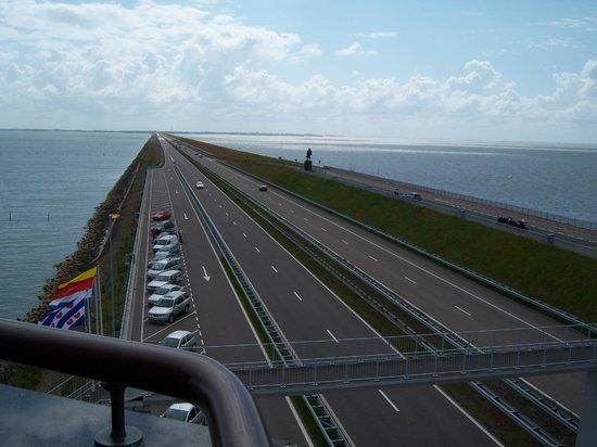 Afsluitdijk: Diga - altra prospettiva