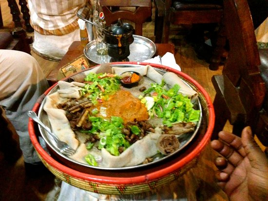 Yod Abyssinia Traditional Food : dips