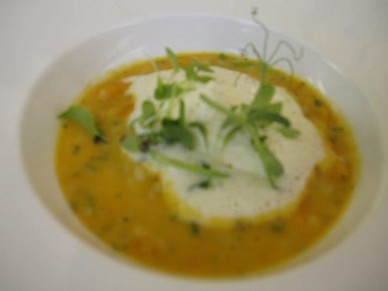 Grande Provence Estate Restaurant: My risotto starter