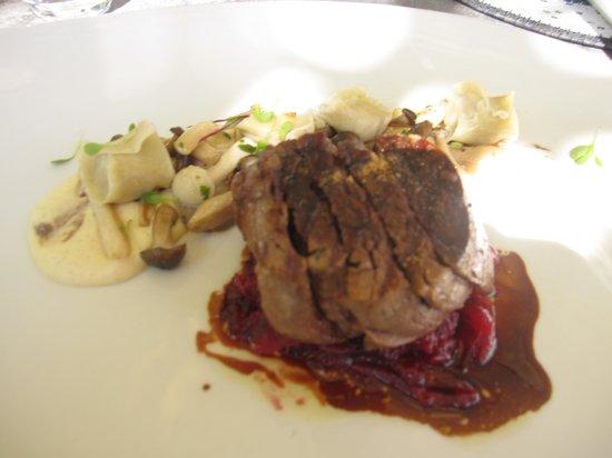 Grande Provence Estate Restaurant: My fillet of beef mains