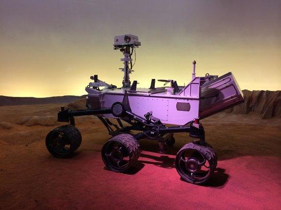Cité de l'espace : Mission Mars