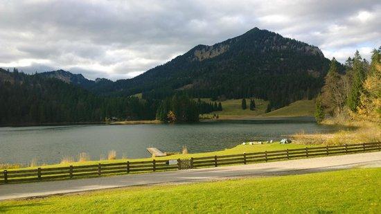 Arabella Alpenhotel am Spitzingsee: Ausblick