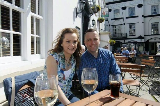 Punch House Monmouth: Enjoying the sunshine at The Punch House
