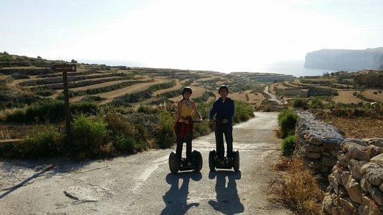 Gozo Segway Tours: Mit dem Segway durch fast unberührte Natur...