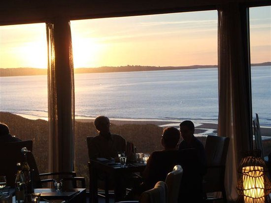 Barnbougle Dunes Cottages : Lost Farm restaurant view