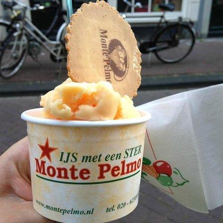 Monte Pelmo: Мороженое со вкусом дыни