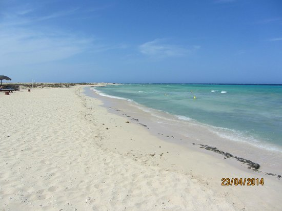 Gorgonia Beach Resort Srand