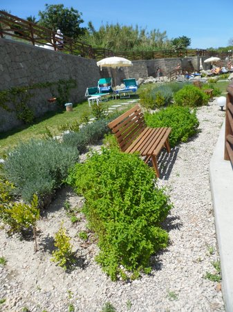 Resort Grazia Terme: aroma bench and herbs