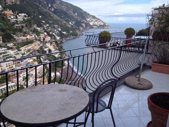 Hotel Villa Franca: Fantastic view from balcony
