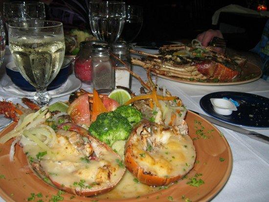 Punta Cana Princess All Suites Resort & Spa: Lobster Dinner