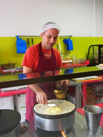 La Pause Café : Olivier in action