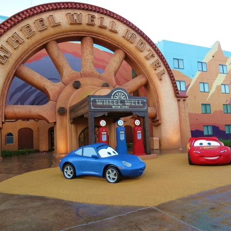 Disney's Art of Animation Resort: Awesome grounds at Art Of Animation