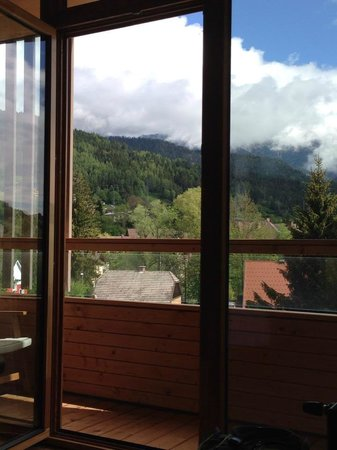 Falkensteiner Hotel Schladming: Vista dalla camera