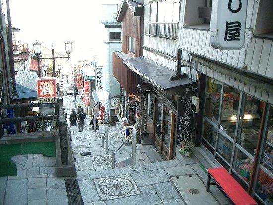 Ikaho Stone Step Street: 石段街