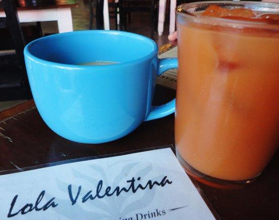 Lola Valentina : beautiful cups, divine juices...