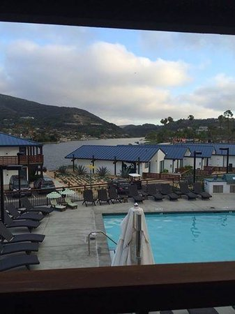 Lakehouse Hotel & Resort: The view from our room