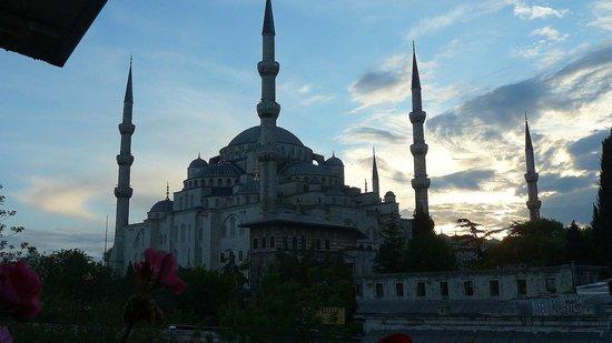 Rami Restaurant: Blick auf die Blaue Moschee 2