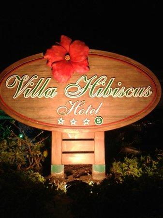 Hotel Villa Hibiscus : PER NON PERDERSI....
